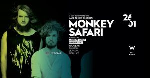 """Monkey Safari brings rays of light to whatever dance floors they cast their shimmering spell on."""