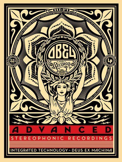 Lotus Woman: Shepard Fairey - Advanced Stereophonic Recordings