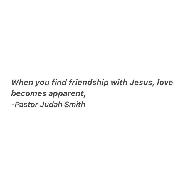 """True love being made apparent through a friendship with God