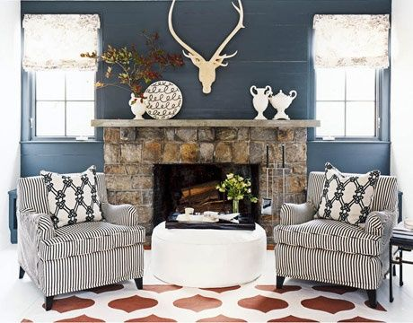 Love The Stone Around The Fireplace. Could Use This Idea For A Stone Mantle  For · Decor IdeasDecorating ...