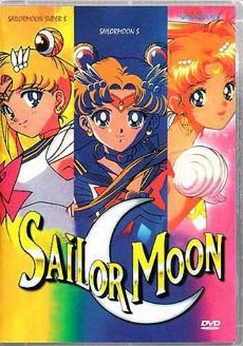 SAILOR MOON Complete Movies collection R S Super S 3 DVD box set ENGLISH DUB