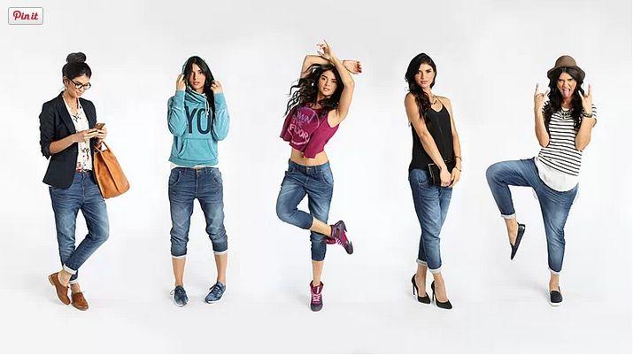 5 Ways to Wear Studio Denim #reebok #lesmills #fitness