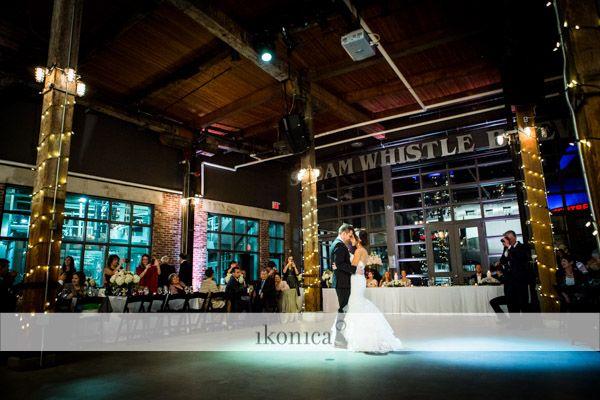 Christina + Brendon, Steamwhistle Brewery