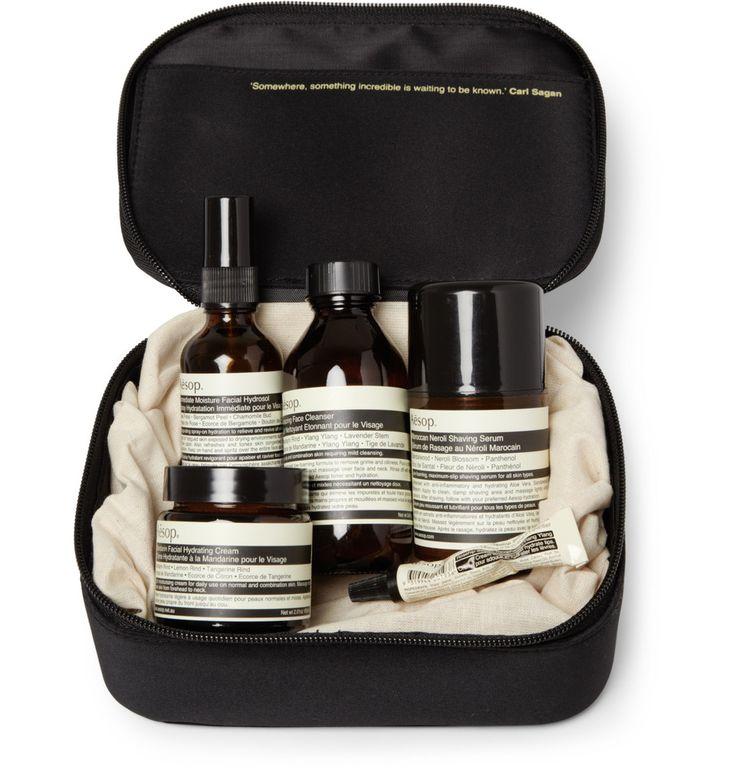 AesopMR PORTER Dapper Gentleman Grooming Kit|MR PORTER - excellent brand excellent results