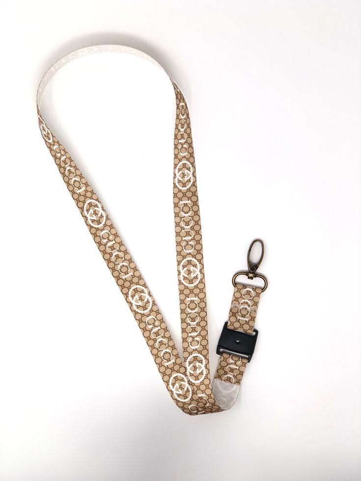 Gucci lanyard designer lanyard id badge holder teacher