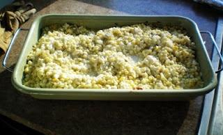 Corn casserole. Super easy side dish.Corn Casseroles, Delicious Recipe, Yummy Side, Fiestas Corn