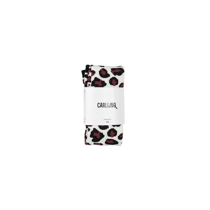 """Strumpfhose """"Leopard"""" von CarlijnQ aus GOTS zertifizierter gekämmter Baumwolle mit coolem Leo-Print. Hübsche Kinderstrumpfhosen bei kyddo entdecken."""