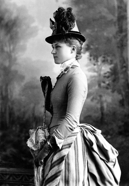 Miss Ethel Bond, Montreal, Canada, 1886