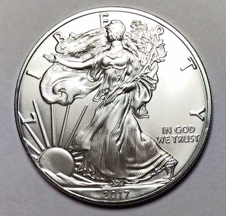 Great deal! 2017 Silver American Eagle 1 Oz .999 Fine One Dollar Brilliant Unc