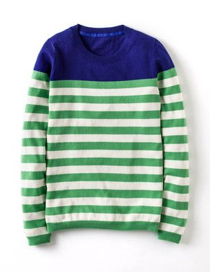I've spotted this @BodenClothing Brigitte Sweater Apple/Ivory Stripe