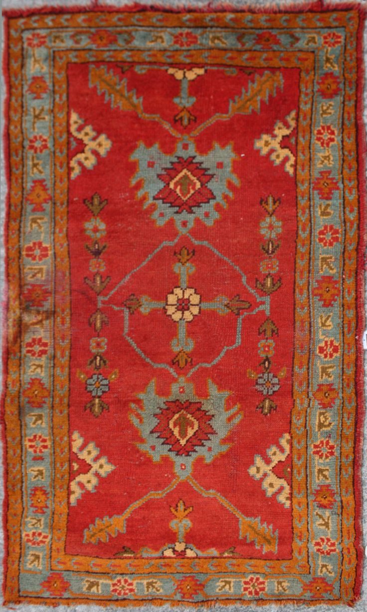 Turkish Rug | Ushak Carpet | Antique Turkish Ushak Rug