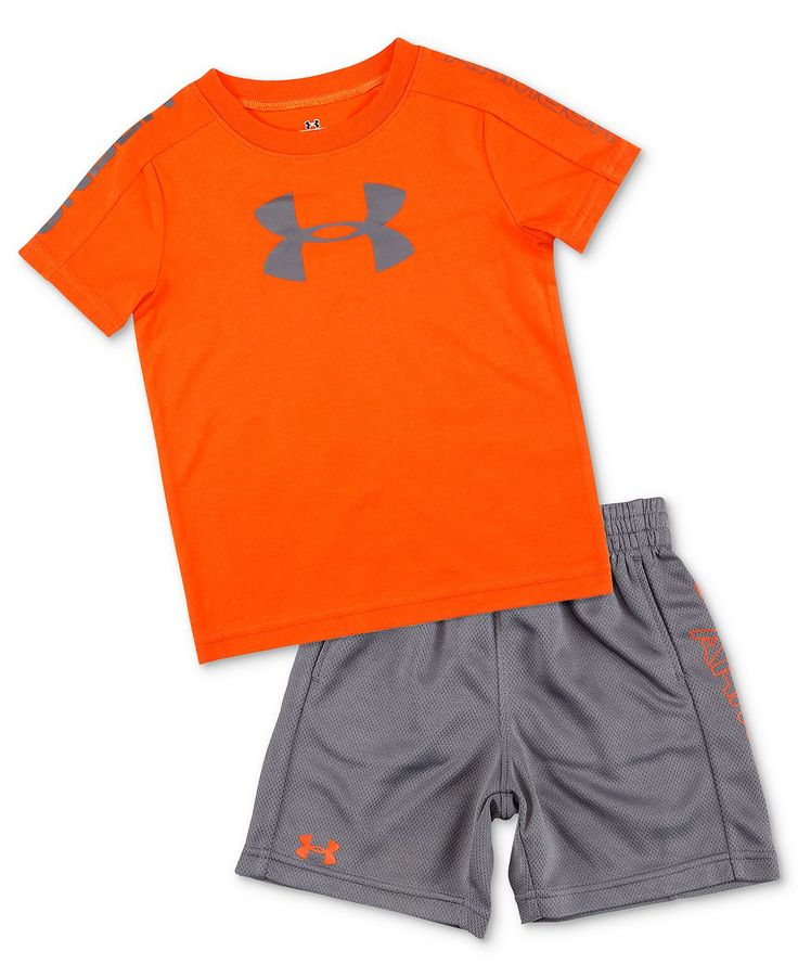 Under Armour Baby Set, Baby Boys 2-Piece Tee and Shorts - Kids Baby Boy (0-24 months) - Macy's