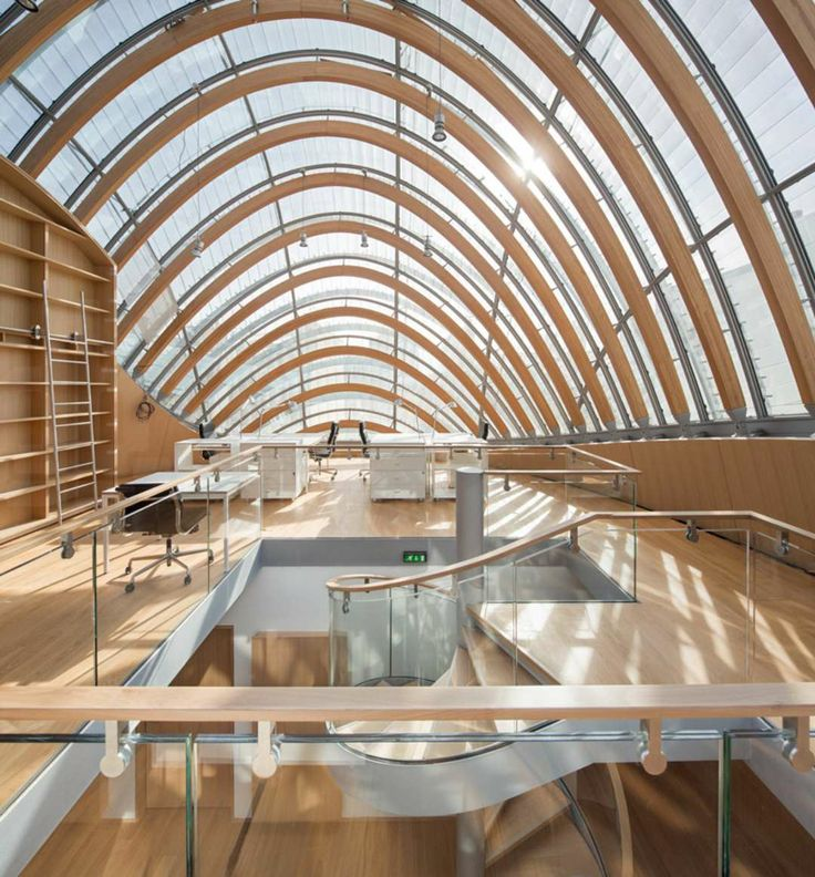 Renzo Piano's at it Again Pathé Foundation Nearly