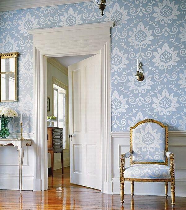 325 best Blue Interiors images on Pinterest   Blue interiors, Blue ...