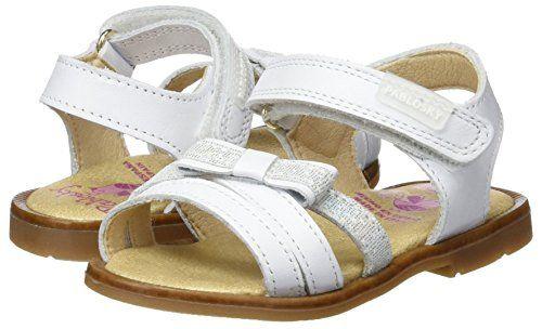 Pablosky 009500, Sandalias con Punta Abierta para Niñas: Amazon.es: Zapatos y complementos