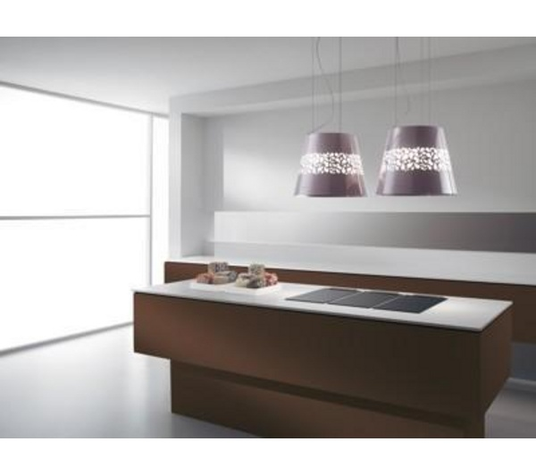£630 each 50cm diam Buy ELICA Jasmine ECOL-JAS-PRL Island Cooker Hood - Pearl | Free Delivery | Currys