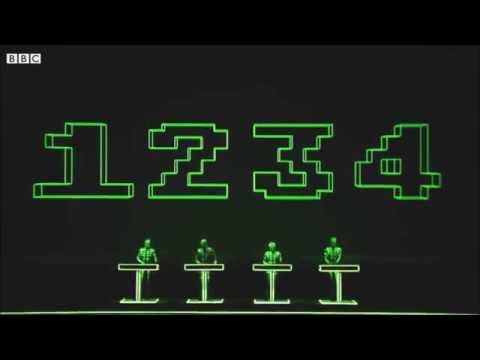KRAFTWERK - NUMBERS (LIVE AT TATE MODERN LONDON)* - YouTube
