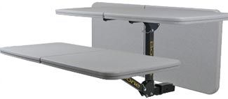 """Boone Outdoor Hardware Tailgate Table with Free Cover for 2"""" Trailer Hitches Boone Outdoor Hitch Accessories BH70777"""
