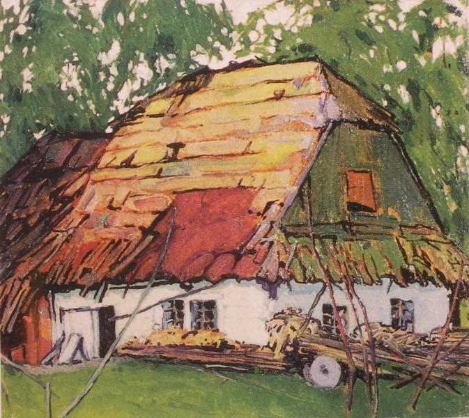 "Ludwik de Laveaux, Polish, 1868-1894, ""Chata"""