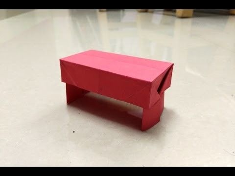 In this paper craft / origami video tutorial learn how to make simple and easy paper table origami. For more Origami / Paper Folding / Paper Craft ideas, videos and tutorials, SUBSCRIBE to : ... Connect with us on :. Tutorial, How, Paper, Origami, Make, Fold, Craft, Tuto,
