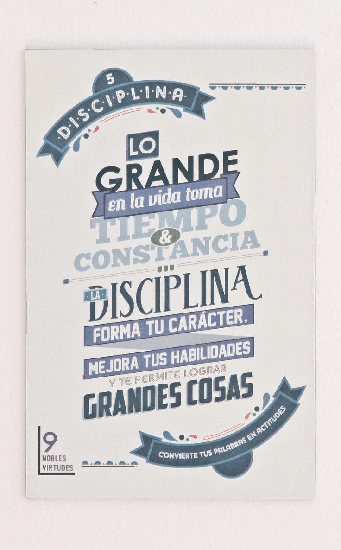 5- Disciplina.#reflexiones #infografia