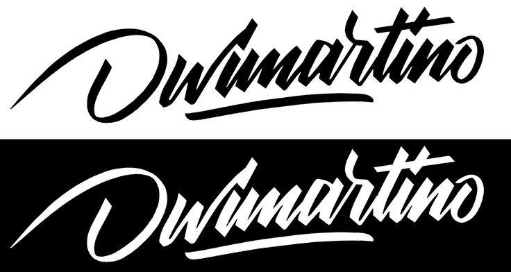 Digital lettering experiment.