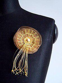 Odznaky/Brošne - Žluté mámení z kolekce
