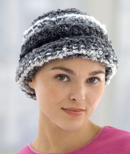46 Best Knit Chemo Caps Images On Pinterest Crocheted