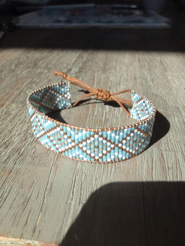 Geweven armband
