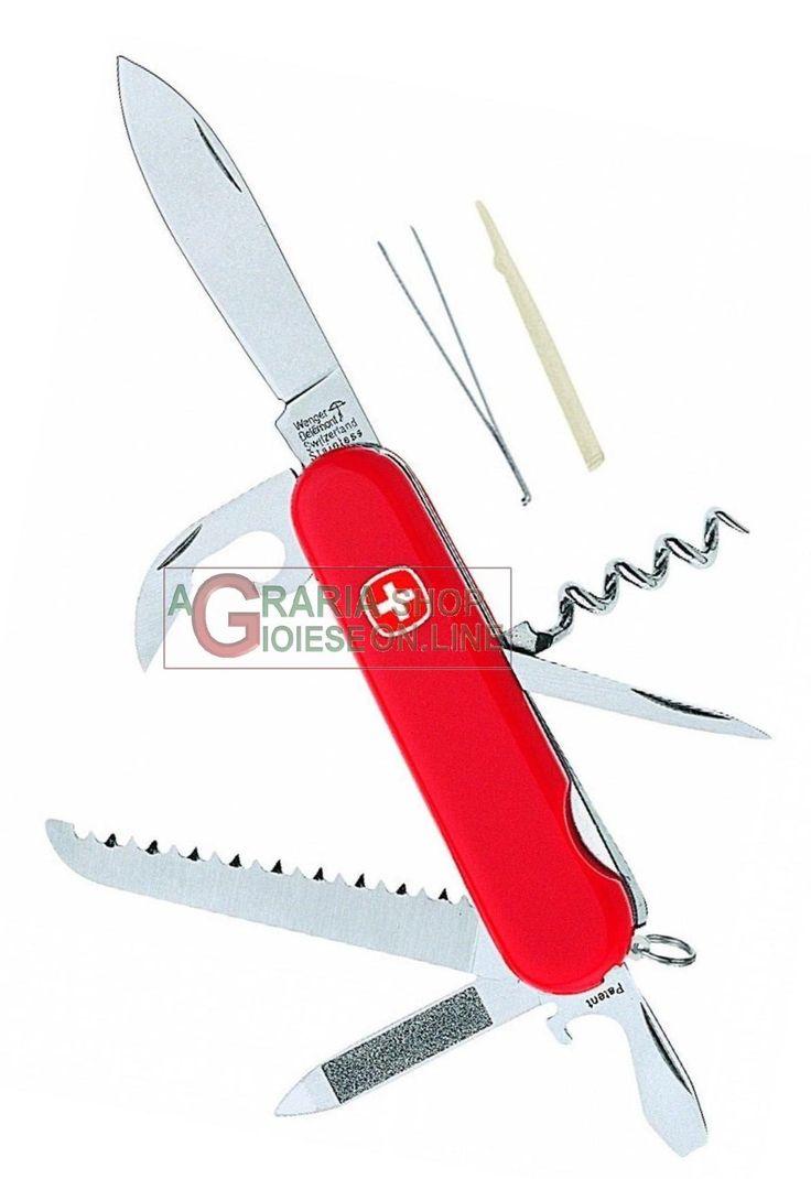 WENGER COLTELLO MULTIUSO CLASSIC 13 http://www.decariashop.it/wenger-multiusi/19893-wenger-coltello-multiuso-classic-13-7611640008658.html