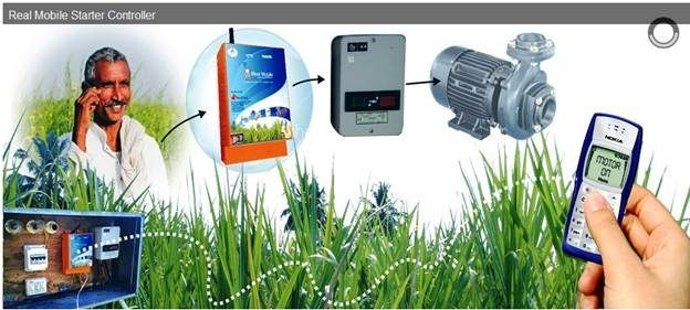 Ideas to #ReinventIndianFarming  Improve irrigation - Remote irrigation control to promote precision and avoid antisocial hours of electricity supply  #i3