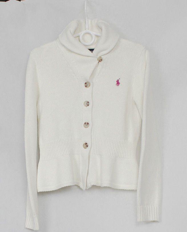 Ralph Lauren Jungen Madchen Strickjacke Cardigan Pullover Pulli Sweater Gr S 7 Fashion Varsity Jacket Sweaters