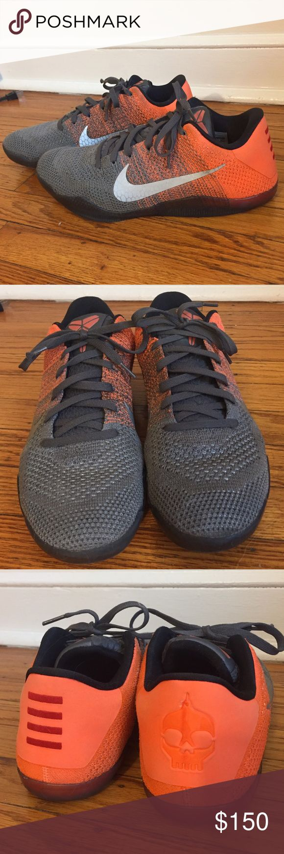 Nike Kobe 11 Elite Men's Low Nike Kobe 11 Elite Low men's sneakers. Worn a handful of times indoors for basketball, in great condition! Zoom soles. Smoke free home. Open to reasonable offers! Nike Shoes Athletic Shoes