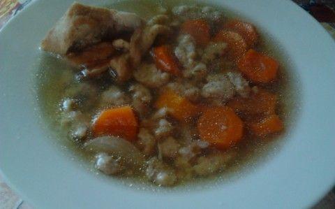 Májgombóc leves recept fotóval