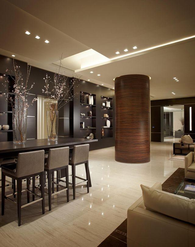 Contemporary space designed by Pepe Calderin.