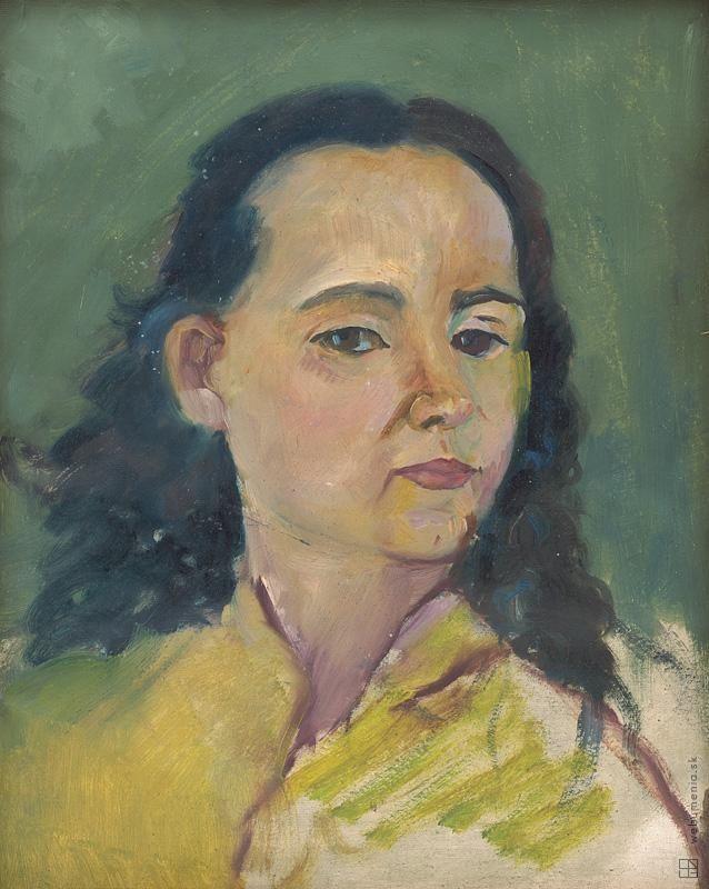 Arnold Peter Weisz-Kubínčan: Portrét ženy:1920 - 1940