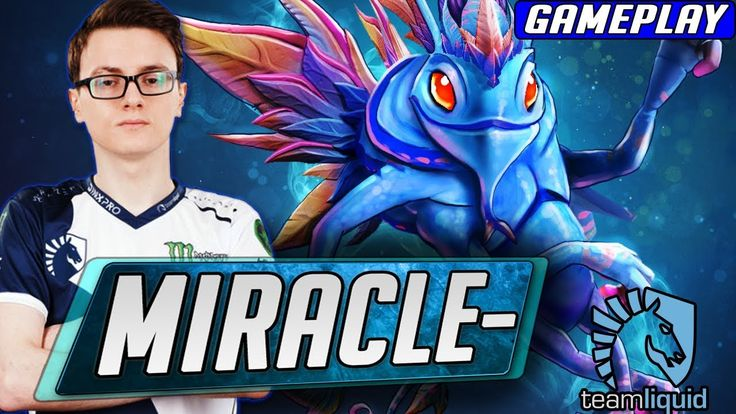 Miracle- Puck Dota 2 Pro Gameplay | Team Liquid MIracle Gameplay