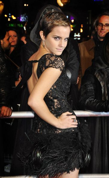 "Emma Watson Pictures World Premiere of ""Harry Potter and the Deathly Hallows"" in London -"