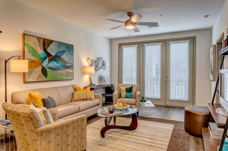 Model of a 1 bedroom condo at Tapestry at Brentwood Town Center!