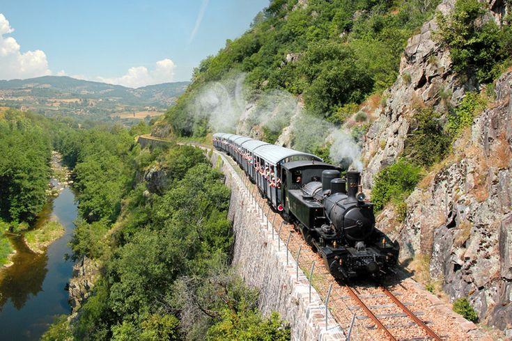 chemin de fer de Tournon a Lamastre