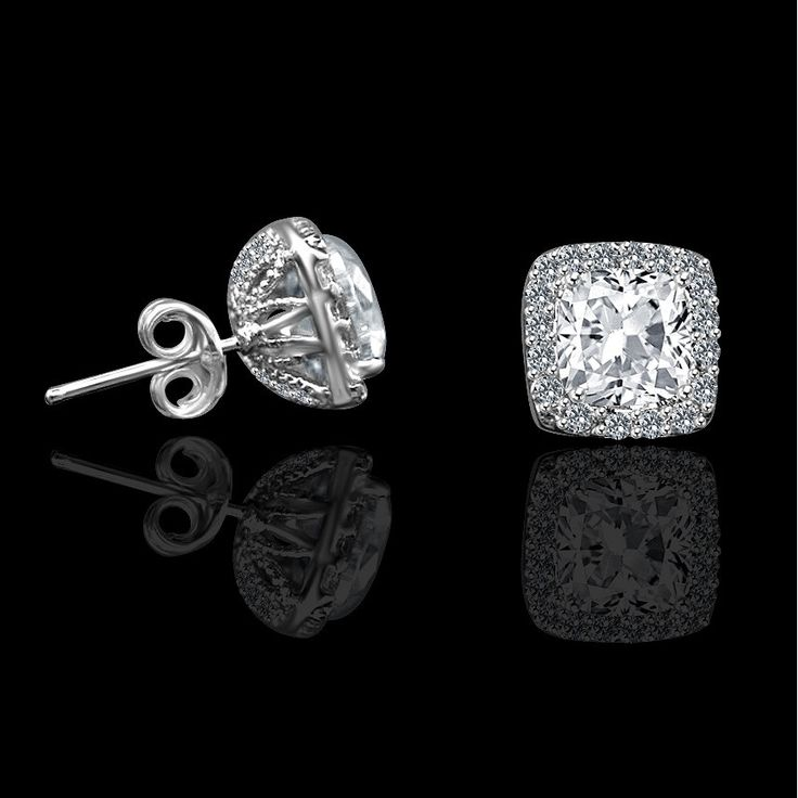 17 Best ideas about Diamond Earrings on Pinterest | Diamond stud ...