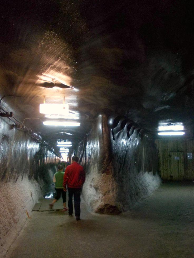 The Salt Mine-the old entrance  Turda, Romania