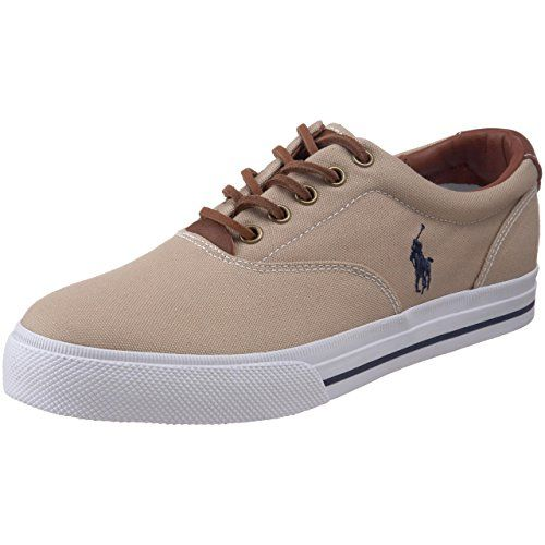 0288fed867d Polo Ralph Lauren Men's Vaughn Canvas/Leather Lace up casual ...