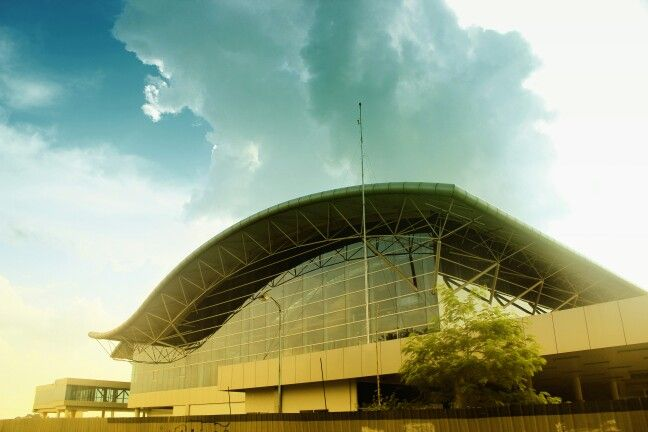 Sultan Thaha Airport, Jambi - Indonesia.