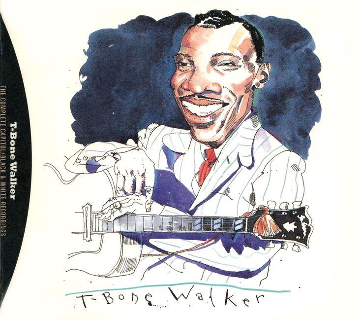 T-Bone Walker by Joe Ciardiello Capitol Blues Collection (1995)