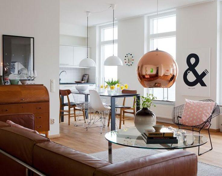 Un appartamento fresco ed elegante - Fotografia via Bolaget