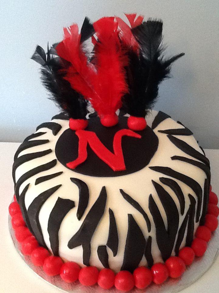 Fun Zebra Cake!
