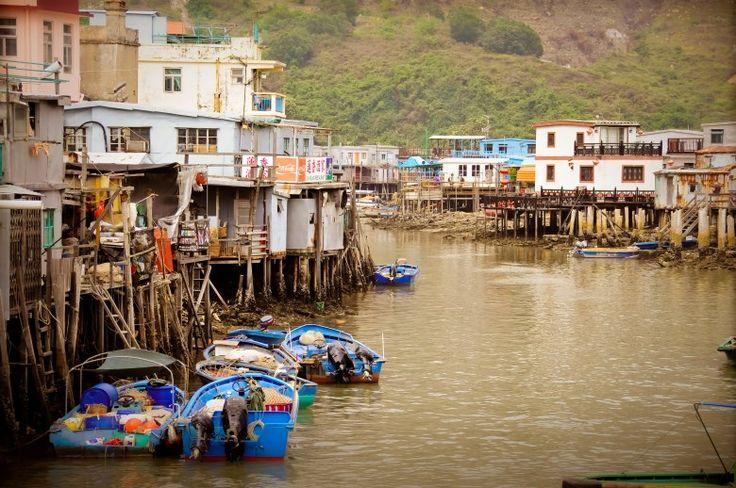 Hong Kong Tai O Village