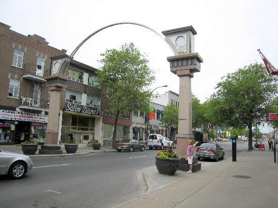 Entrata di Little Italy, Montreal