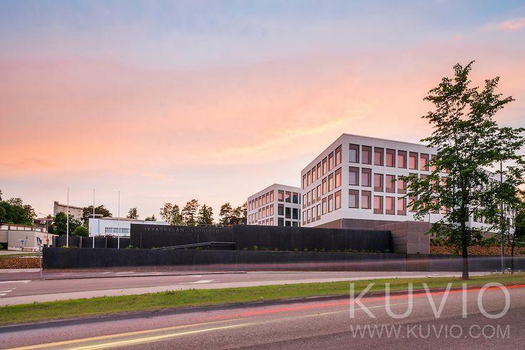 Ruusupuisto, University of Jyväskylä, designed by SARC Architects